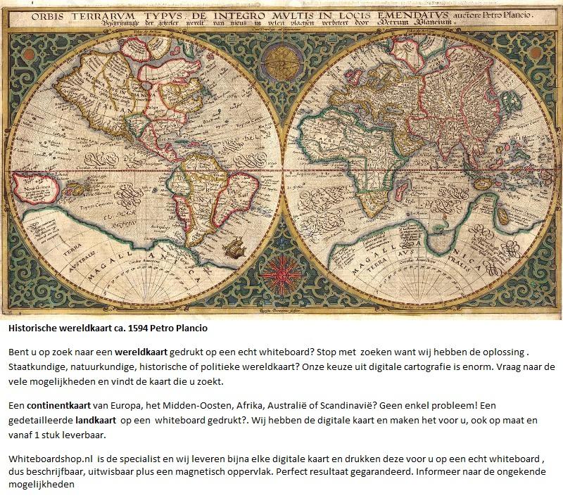Wereldkaart of landkaart op whiteboard gedrukt voorbeelden altavistaventures Images